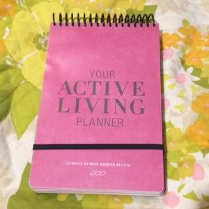 Your Active Living Planner NWOT Weight Loss Diary